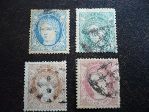 Stamps - Cuba - Scott# 46-49 - Used - Set of 4 stamps