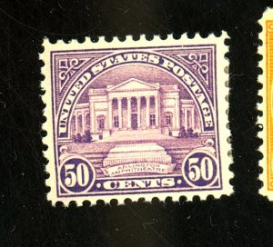 570 MINT F-VF OG HR Cat $33