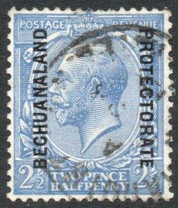 BECHUANALAND-1915 2½d Blue Sg 78a FINE USED V38320