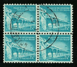 USA, 1 1/4 cents, Block 4 stamp, SC #1031A (L-10)