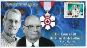 CA20-029, 2020, Medical Groundbreakers, Dr James Till, Dr Ernest McCulloch,