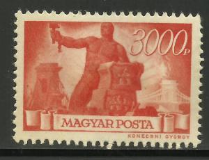 Hungary 1946 Scott# 722 MNG