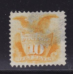 116 VF used light cancel with nice color ! see pic !