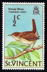St. Vincent #279 House Wren; MNH (0.25)