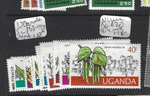 UGANDA   (P1909B) SC 133-146   MNH