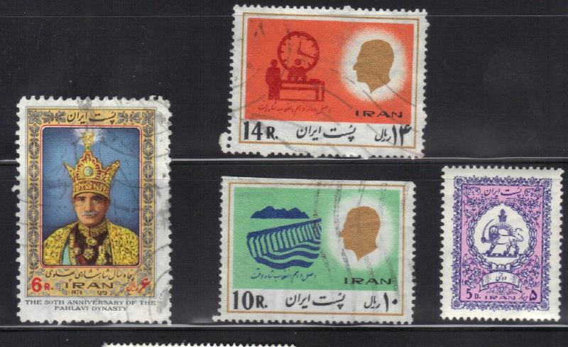 IRAN SMALL LOT #3 NICE STAMPS
