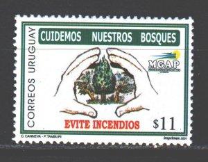 Uruguay. 2001. 2580. Ecology, forest restoration company. MNH.