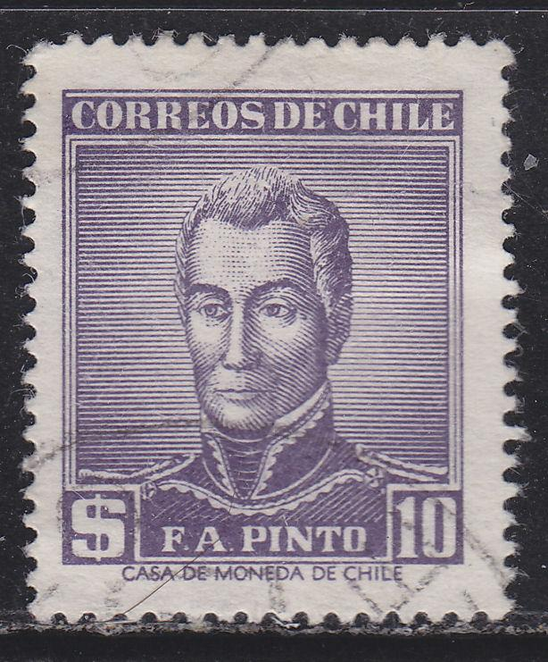 Chile 295 President Francisco A Pinto 1956
