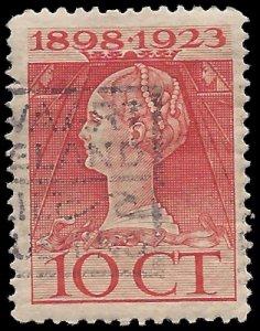 Netherlands #127 1923 Used