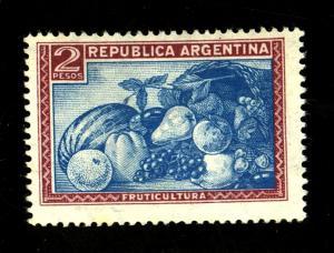 Argentina #499 MINT F-VF No Gum Cat $20