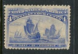 United States #233 Mint No Gum  (Box1)