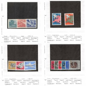 Lot of 42 Yugoslavia Assorted MNH Mint Never Hinged Stamps #150996 X R