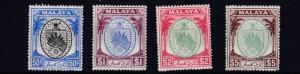 NEGRI SEMBILAN  1949 - 55    S G  59 - 62    50C TO $5     MH  CAT £90