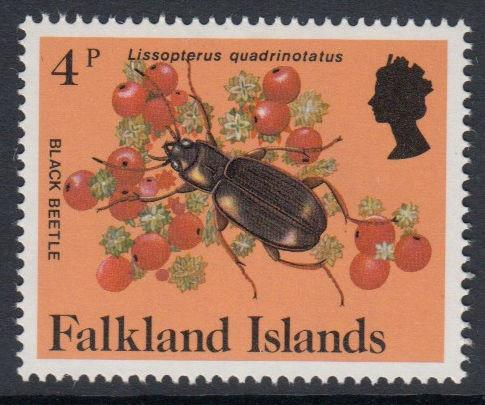 Falkland Islands - 1984 Insects and Spiders (4p) (MNH)