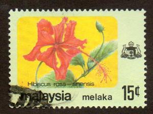 Malaysia, Malacca  Scott  72  Used