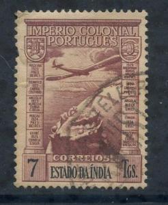 Portuguese India Sct # C5; Used