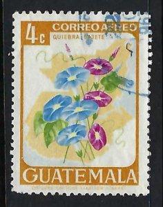 GUATEMALA C352 VFU FLOWERS R6-127-1