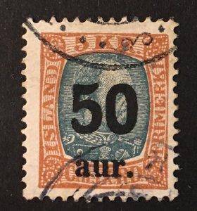 Iceland Sc. #138, used