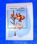 Guinea Bissau - 794, MNH S/S. Flower. SCV - $5.00