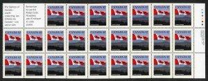 Canada SG1356b 42c booklet pane of 25 Fresh U/M