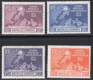 NEW HEBRIDES-FRENCH SCOTT 79-82