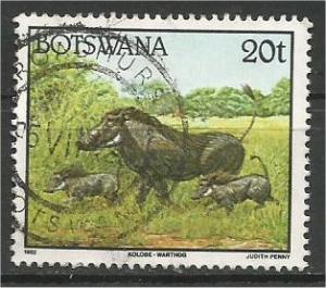 BOTSWANA, 1992, used 20t, Warthog Scott 525