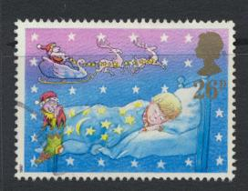 Great Britain SG 1377 -  Used - Christmas