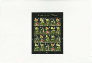 US Stamps/Postage/Sheet Sc #3531a Carnivorous Plants MNH F-VF OG FV 6.80