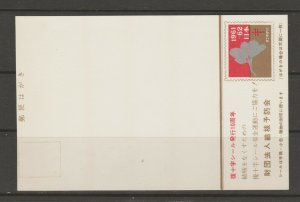 Japan Cinderella seal TB Charity revenue stamp 5-03- mint NOTE-> POST CARD