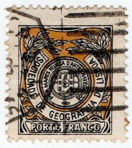 (I.B) Portugal Cinderella : Sociedade de Geographia de Lisboa (Porte Franco)