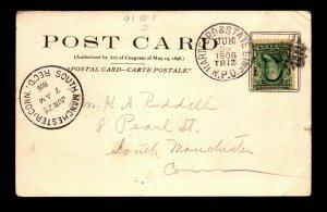1906 Hartford & State Line RPO 91-G-1 - L19023