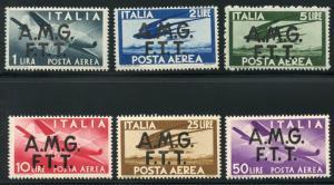 ITALIAN TRIESTE  SCOTT #C13/16   MINT NEVER HINGED FULL ORIGINAL GUM