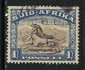SOUTH AFRICA 43b VFU Z4700-3