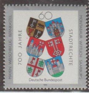 Germany Scott #1644 Stamp - Mint NH Single