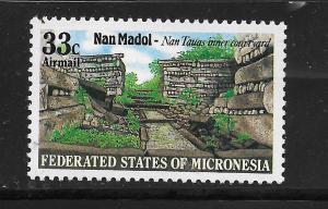 MICRONESIA, C16, MNH,NAH TAUS