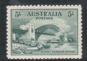 Australia #132 Extra Fine Mint Very Lightly Hinged Gem
