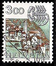 SCHWEIZ SWITZERLAND [1985] MiNr 1289 ( O/used ) Tierkreis