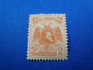 ALBANIA 1920 - SCOTT # 129 WITHOUT OVERPRINT    MH