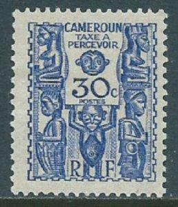 Cameroun, Sc #J18, 30c MH