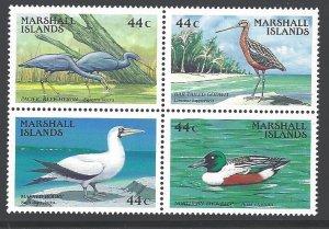 Marshall Islands Sc # 164-167a mint NH (RC)