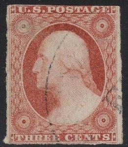 US Scott # 11a 3c Washington Used