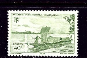 French West Africa 38 MH 1947 issue
