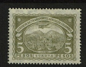 Colombia SC# C50, Mint Hinged, Hinge Remnant, some disturbed gum - S10300
