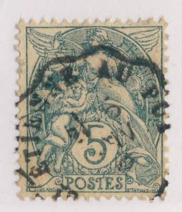 FRANCE - 1906 - CàD CONVOYEUR-LIGNE t.I  St ÉTIENNE AU PUY  SUR N°111