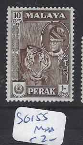 MALAYA PERAK (P1409B)   10C TIGER SG 155   MNH