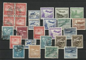 Vintage Mixed Chile Stamps Ref 28959