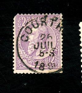 Belgium #59 Used FVF Short COrner Perf Cat$35