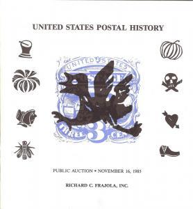 Frajola: Sale # 23  -  United States Postal History, Fraj...
