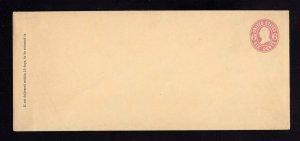 U63, UPSS #135 Mint Envelope, UPSS Cat 100.00