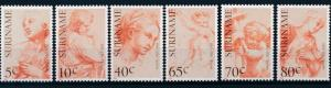 [SU 342] Suriname 1983 Paintings Art Rafael / Raphael  MNH